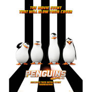 Penguins of Madagascar One Sheet - Mini Poster - 40 x 50cm
