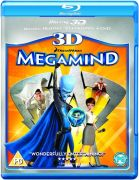 Megamind 3D (3D Blu-Ray, 2D Blu-Ray and DVD)