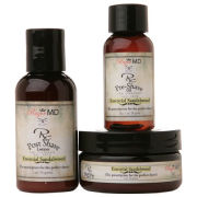 Razor MD Rx Shave-Travel kit (Sandalwood)