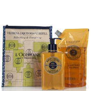 L'Occitane Verbena Liquid Soap and Eco-Refill -  Summer Special Purchace