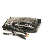Lord & Berry Black Wardrobe Trio Kit Eyeliners - Polish/Silk Kajal/Pailette