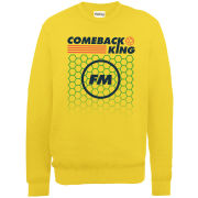 Football Manager Comeback King Men's Sweatshirt - Gold
