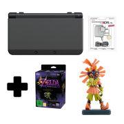 New Nintendo 3DS Black + Majoras Mask 3D Special Edition