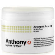 Anthony Logistics Astringent Oil Control Toner Pads
