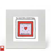 Edward Monkton Fine Art Print - The Solution to Everything