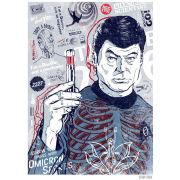 Star Trek Fine Art Print - McCoy's Bones