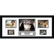 "Star Wars A New Hope Storyboard - 30"""" x 12"""" Framed Photographic"