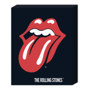 The Rolling Stones Lips - 50 x 40cm Canvas