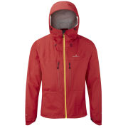 RonHill Men's Trail Tempest Jacket - Cardinal Red/Solar