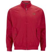 Weekend Offender Men's Gilmar Cotton Harrington Bomber Jacket - Red