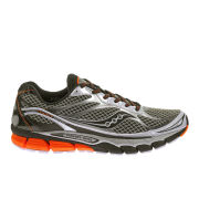 Saucony Mens Ride 7 Running Shoes - White/Black/Orange