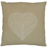 Torba Crystal Heart Cushion