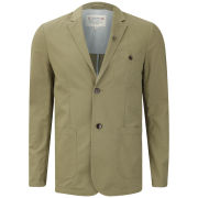 Farah 1920s Men's The Davis Jacket - Rich Olive