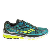 Saucony Men's Ride 7 Neutral Running Shoes (Medium Width) - Blue/Black/Citron