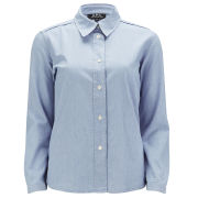 A.P.C Women's Chambray Shirt - Indigo