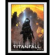 Titanfall Pilot - 8x6 Framed Photographic