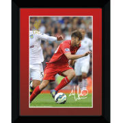 Liverpool Lallana 14/15 - Framed Photographic - 8x6