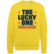 Football Manager Lucky One Men's Sweatshirt - Gold
