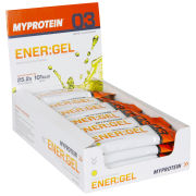 Myprotein ENER:GEL - Lemon & Lime  Lemon & Lime Box 24 x 60 ml