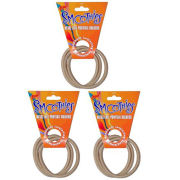 Blax Metal Free Ponytail Bands - Blonde Trio