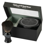 Taylor of Old Bond Street Jermyn Street Pure Badger Brush and Shaving Cream Bowl Set