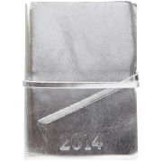 Barbara Wiggins Diary 2014 - Metallic Silver