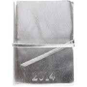 Barbara Wiggins Diary 2014 - Metallic Silver