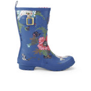 Joules Women's Molly Wellies - Blue Floral