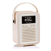 View Quest Retro Mini Bluetooth DAB+ Radio - Cream