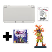 New Nintendo 3DS White + Majoras Mask 3D Standard Edition