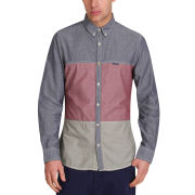 Mas-if Men's Wig Wam Mix Chambray Shirt - Block Colour