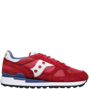 Saucony Men's Shadow Original Trainers - Red/White