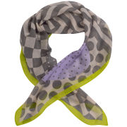 Codello Women's Happy World Four Hearts Scarf - Multi