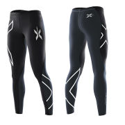 2XU Women's Elite Compression Tights - Black/Steel