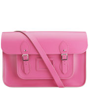 Cambridge Satchel Company 15 Inch Leather Satchel - Orchid