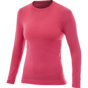 Craft Women's Stay Cool Seamless Long Sleeve Base Layer - Pink
