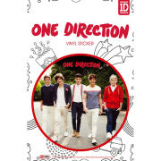 One Direction Walking - Vinyl Sticker - 10 x 15cm