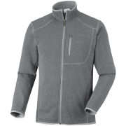 Columbia Men's Altitude Aspect Full Zip Fleece - Boulder Grey/Black Heather
