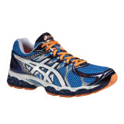 Asics Men's Gel-Nimbus 16 Trainers - Blue/White/Flash Orange
