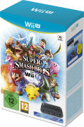 Super Smash Bros. + Wii U GameCube Controller Adaptor