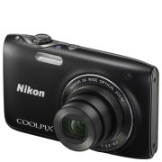 Nikon Coolpix S3100 Compact Digital Camera - Black (14MP, 5x Optical Zoom) 2.7 Inch LCD - Grade A Refurb