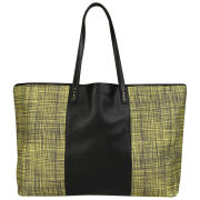 French Connection Get Your Kicks Printed Canvas Shoulder Bag
