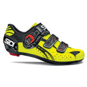 Sidi Genius 5 Fit Carbon Cycling Shoes - Yellow/Black