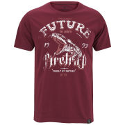 Firetrap Men's Snakes T-Shirt - Tawny Port