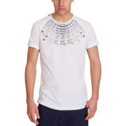 Mas-if Men's Hubbel Fan T-Shirt - White