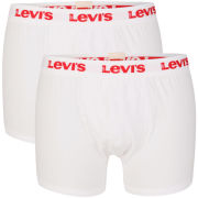 Levis Men's Ethan 2-Pack Boxer Shorts - White