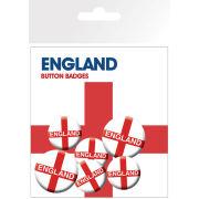 England Flag Badge Pack (10 x 15cm)