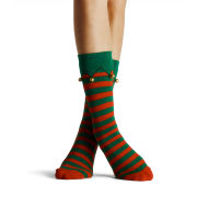 Silly Socks Adult - Thick Elf Boot (with bells) - 5-11
