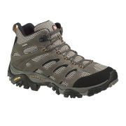 Merrell Men's Moab Mid Gore Tex Hiking Boots - Walnut