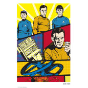 Star Trek Fine Art Print - Trek Goes Pop